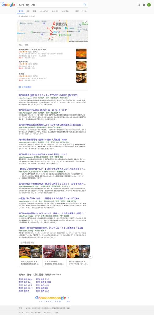 高円寺 焼肉 人気