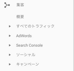 検索トラフィック