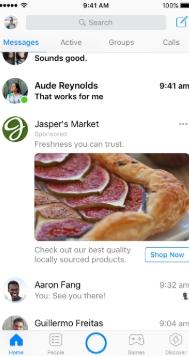 Messenger広告